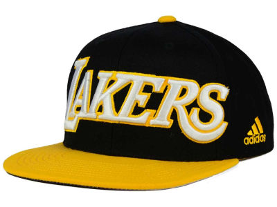 Los Angeles Lakers adidas NBA 2015-2016 Courtside Cap
