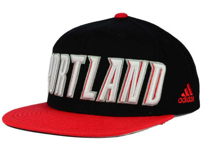 Portland Trail Blazers adidas NBA 2015-2016 Courtside Cap