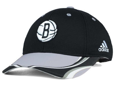 Brooklyn Nets adidas NBA Youth Above the Rim Adjustable Cap