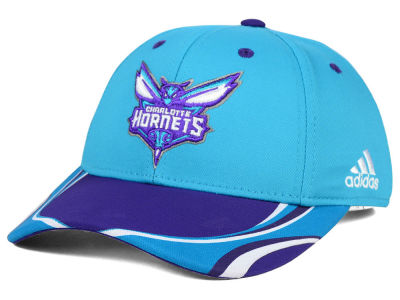 Charlotte Hornets adidas NBA Youth Above the Rim Adjustable Cap