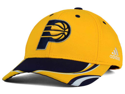 Indiana Pacers adidas NBA Youth Above the Rim Adjustable Cap