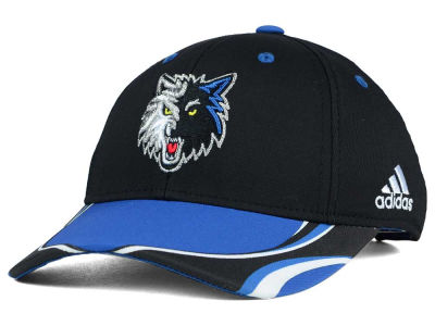 Minnesota Timberwolves adidas NBA Youth Above the Rim Adjustable Cap
