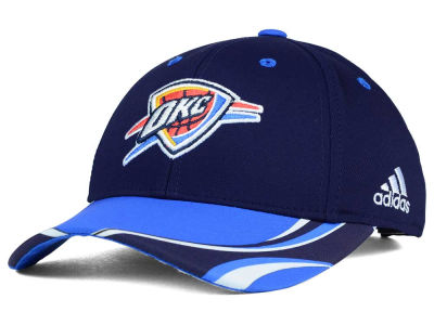 Oklahoma City Thunder adidas NBA Youth Above the Rim Adjustable Cap