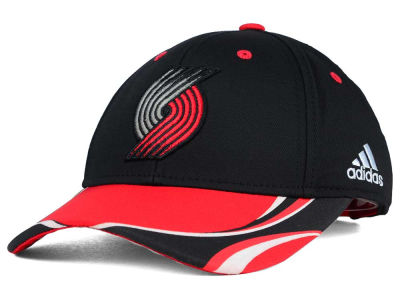 Portland Trail Blazers adidas NBA Youth Above the Rim Adjustable Cap
