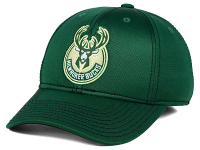 Milwaukee Bucks adidas NBA Reflective Flex Cap