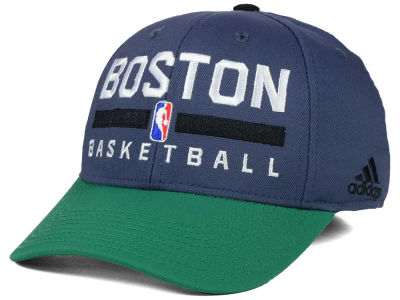 Boston Celtics adidas NBA 2015 Practice Flex Cap