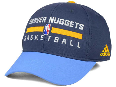 Denver Nuggets adidas NBA 2015 Practice Flex Cap