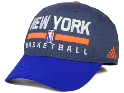 New York Knicks adidas NBA 2015 Practice Flex Cap