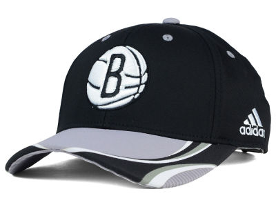 Brooklyn Nets adidas NBA Above the Rim Adjustable Cap