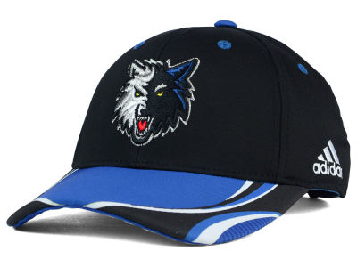 Minnesota Timberwolves adidas NBA Above the Rim Adjustable Cap