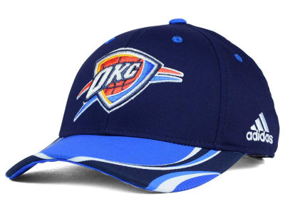 Oklahoma City Thunder adidas NBA Above the Rim Adjustable Cap
