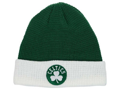 Boston Celtics adidas NBA 2015 Authentic Team Cuffed Knit