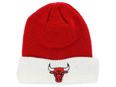 Chicago Bulls adidas NBA 2015 Authentic Team Cuffed Knit