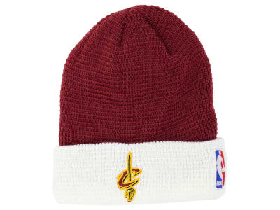 Cleveland Cavaliers adidas NBA 2015 Authentic Team Cuffed Knit