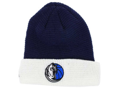 Dallas Mavericks adidas NBA 2015 Authentic Team Cuffed Knit