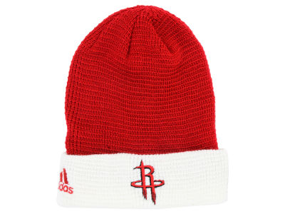 Houston Rockets adidas NBA 2015 Authentic Team Cuffed Knit