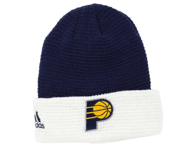 Indiana Pacers adidas NBA 2015 Authentic Team Cuffed Knit