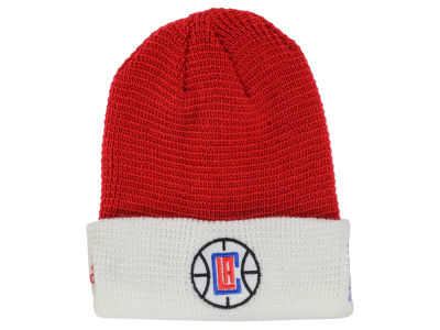 Los Angeles Clippers adidas NBA 2015 Authentic Team Cuffed Knit