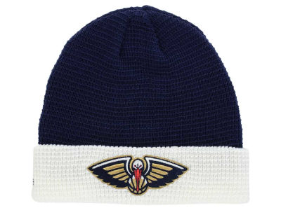 New Orleans Pelicans adidas NBA 2015 Authentic Team Cuffed Knit