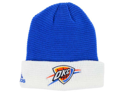Oklahoma City Thunder adidas NBA 2015 Authentic Team Cuffed Knit