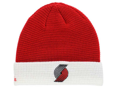 Portland Trail Blazers adidas NBA 2015 Authentic Team Cuffed Knit