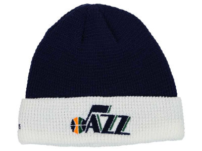 Utah Jazz adidas NBA 2015 Authentic Team Cuffed Knit