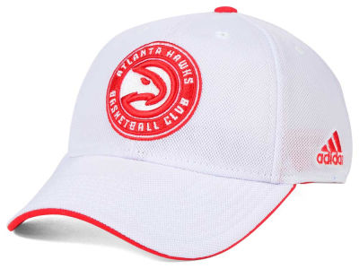 Atlanta Hawks adidas NBA 2015 Authentic Team Flex Cap