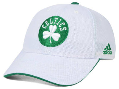 Boston Celtics adidas NBA 2015 Authentic Team Flex Cap
