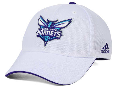 Charlotte Hornets adidas NBA 2015 Authentic Team Flex Cap