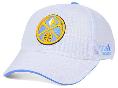 Denver Nuggets adidas NBA 2015 Authentic Team Flex Cap