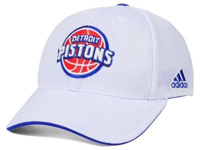 Detroit Pistons adidas NBA 2015 Authentic Team Flex Cap