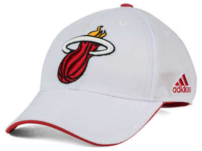 Miami Heat adidas NBA 2015 Authentic Team Flex Cap