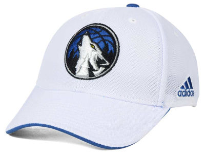 Minnesota Timberwolves adidas NBA 2015 Authentic Team Flex Cap