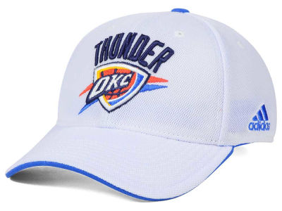 Oklahoma City Thunder adidas NBA 2015 Authentic Team Flex Cap