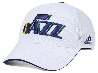 Utah Jazz adidas NBA 2015 Authentic Team Flex Cap