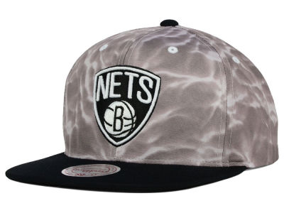 Brooklyn Nets Mitchell and Ness NBA Color Surf Camo Snapback Cap