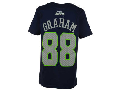 Seattle Seahawks Jimmy Graham Outerstuff NFL Youth Mainliner Player T-Shirt