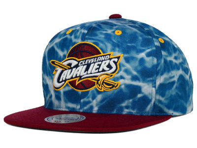 Cleveland Cavaliers Mitchell and Ness NBA Color Surf Camo Snapback Cap