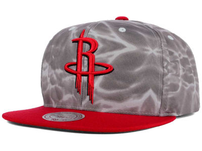 Houston Rockets Mitchell and Ness NBA Color Surf Camo Snapback Cap