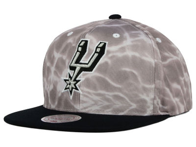San Antonio Spurs Mitchell and Ness NBA Color Surf Camo Snapback Cap
