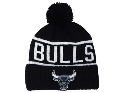 Chicago Bulls Mitchell and Ness NBA Reflective Patch Knit