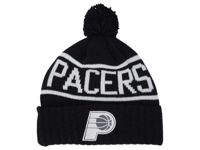 Indiana Pacers Mitchell and Ness NBA Reflective Patch Knit