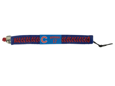 Chicago Cubs Kris Bryant Team Color Baseball Bracelet