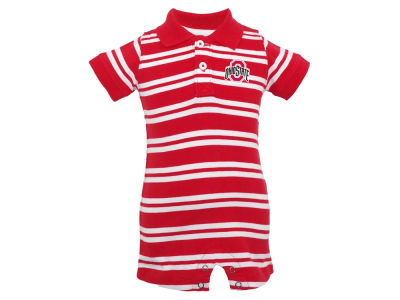 Ohio State Buckeyes NCAA Infant Oliver Polo Romper
