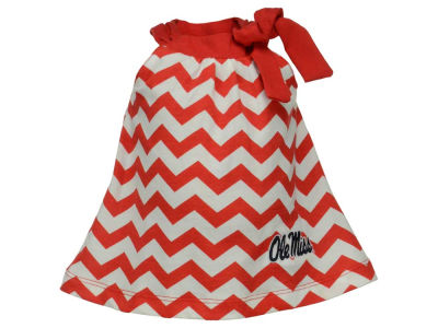 Ole Miss Rebels NCAA Newborn Girls Skyler Dress