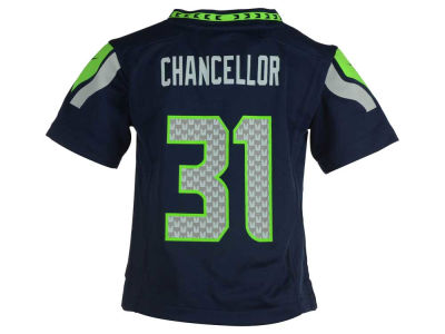 Seattle Seahawks Kam Chancellor Nike NFL Toddler Game Jersey