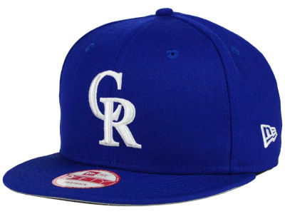 Colorado Rockies New Era MLB C-Dub 9FIFTY Snapback Cap