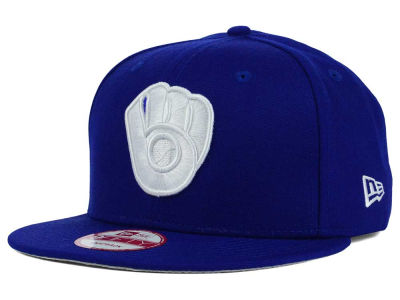 Milwaukee Brewers New Era MLB C-Dub 9FIFTY Snapback Cap