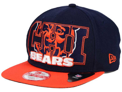 Chicago Bears New Era NFL Big City 9FIFTY Snapback Cap