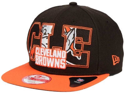 Cleveland Browns New Era NFL Big City 9FIFTY Snapback Cap